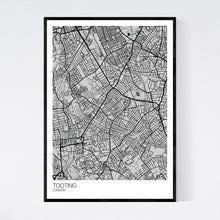 Load image into Gallery viewer, Tooting Neighbourhood Map Print
