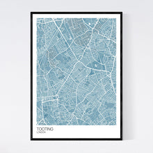Load image into Gallery viewer, Map of Tooting, London