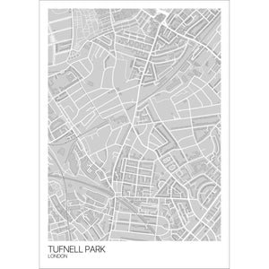 Map of Tufnell Park, London