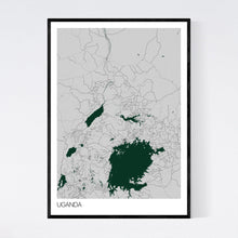 Load image into Gallery viewer, Map of Uganda,