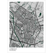Load image into Gallery viewer, Map of Utrecht, Netherlands