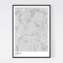 Load image into Gallery viewer, Vantaa City Map Print