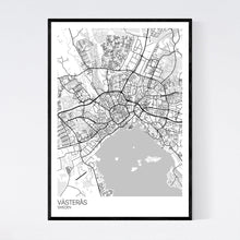 Load image into Gallery viewer, Västerås City Map Print
