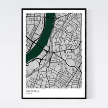 Load image into Gallery viewer, Vauxhall Neighbourhood Map Print