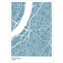 Load image into Gallery viewer, Map of Vauxhall, London