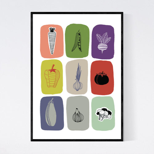 Know your Vegetables Print