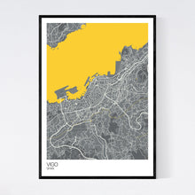 Load image into Gallery viewer, Vigo City Map Print