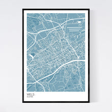 Load image into Gallery viewer, Wels City Map Print
