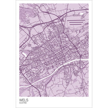 Load image into Gallery viewer, Map of Wels, Austria