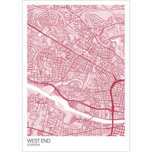 Load image into Gallery viewer, Map of West End, Glasgow