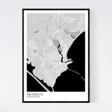 Load image into Gallery viewer, Map of Weymouth, United Kingdom