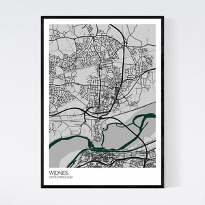 Map of Widnes, United Kingdom