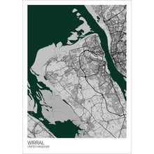 Load image into Gallery viewer, Map of Wirral, United Kingdom