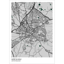 Load image into Gallery viewer, Map of Wrexham, United Kingdom
