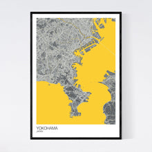 Load image into Gallery viewer, Map of Yokohama, Japan
