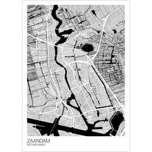 Load image into Gallery viewer, Map of Zaandam, Netherlands