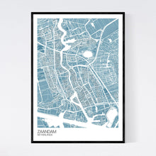 Load image into Gallery viewer, Zaandam City Map Print