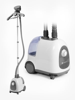 THE HOME GARMENT STEAMER