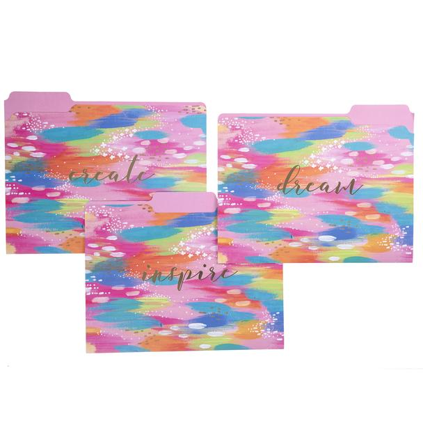 Brush Strokes Folder Set