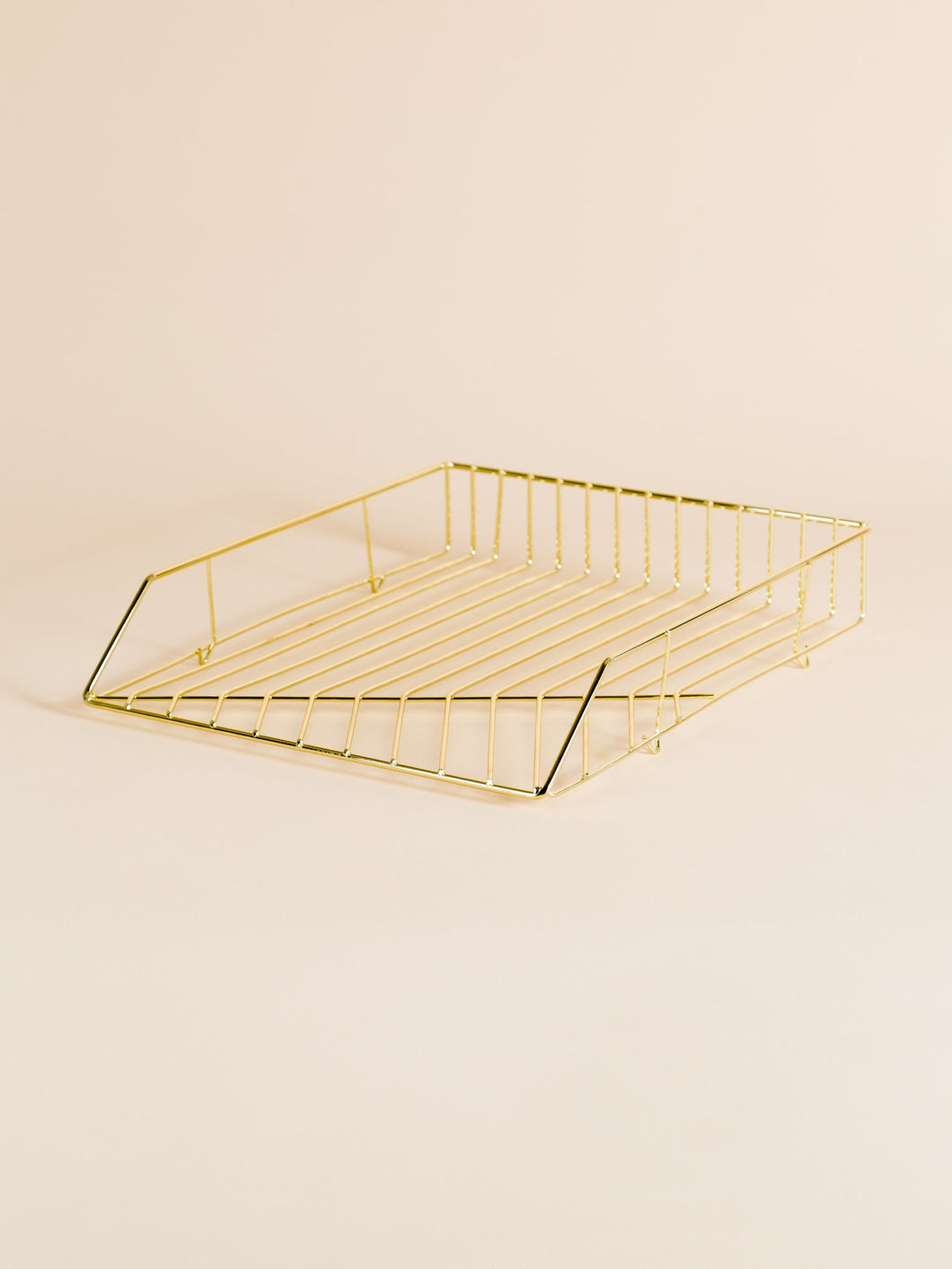 Paper Tray - gold