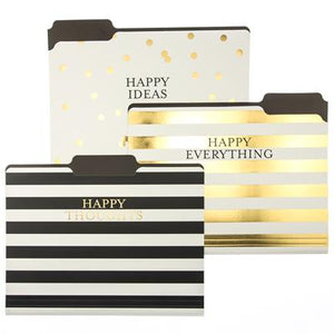 Happy Ideas Folder Set