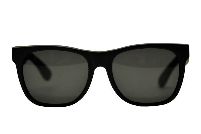 Super by Retrosuperfuture Sunglasses Basic Wayfarer 183 Black Matte