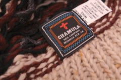 CHAMULA-Double Knit Cap (Natural Heather Fairisle)