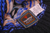 CHAMULA-Double Knit Cap (Navy Heather Fairisle)