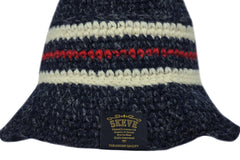Skeve-Color Line Bucket Hat (Navy)