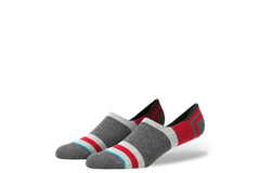 STANCE-Charge No-Shows (Charcoal/Pewter/Red)