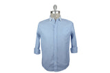 FRANK & EILEEN-French Blue Oxford w/ White Collar (Model Luke)