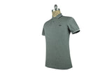 FRED PERRY-M3600 Twin Tipped Polo (Steel Marl/White/Navy)