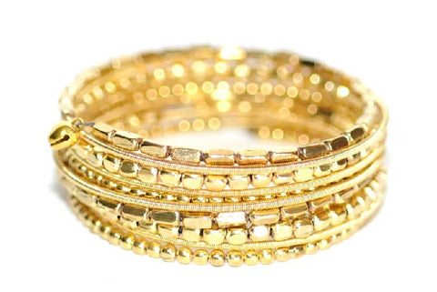 JEFFREY MARK COLLECTION-Coil Bracelet (Gold)
