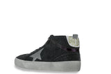 GOLDEN GOOSE-Midstar Mid Top Sneakers (Coal)