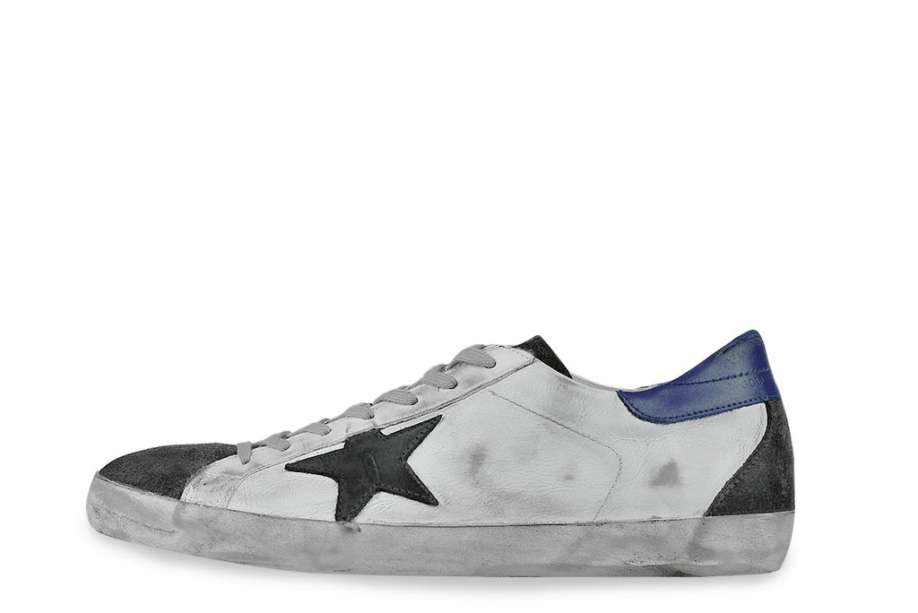 GOLDEN GOOSE-Superstar Low Top Sneakers (Off-White)