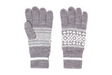 Penfield-Fairtree Gloves (Grey Melange)