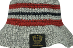 Skeve-Color Line Bucket Hat (Grey)