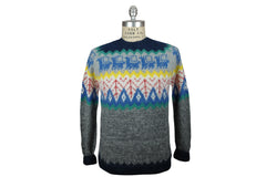 INDUSTRY OF ALL NATIONS-Hand Knit Sweater (Mobile)