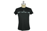 ˈw ə r k r o͝ o m by JEFFREY MARK-JFK - LAX Tee (Charcoal)