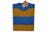 LEVI'S VINTAGE CLOTHING (LVC)-1960's Striped Tee (Yellow Stripe)