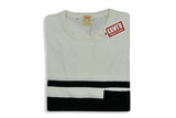 LEVI'S VINTAGE CLOTHING (LVC)-1950's Stripe Sportswear Tee (Black Fire / Antique White)