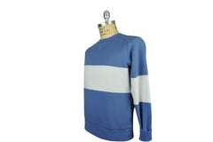 LEVI'S VINTAGE CLOTHING (LVC)-1950's Heritage Color-Block Sweatshirt (Blue)
