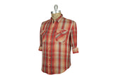 LEVI'S VINTAGE CLOTHING (LVC)-1950's Shorthorn Shirt (Cranberry)