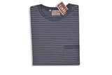 LEVI'S VINTAGE CLOTHING (LVC)-1940's Surf Riders Split Hem Tee (Violet/Grey)
