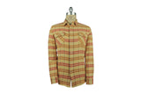 LEVI'S VINTAGE CLOTHING (LVC)-1950's Shorthorn Shirt (Sunfaded Orange Plaid)