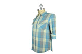 LEVI'S VINTAGE CLOTHING (LVC)-1950's Shorthorn Shirt (Blue Check)