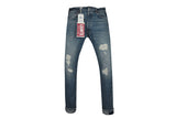 LEVI'S VINTAGE CLOTHING (LVC)-1966 501xx Customized-Silver Rebel
