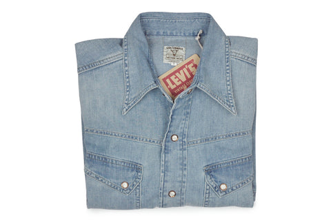 LEVI'S VINTAGE CLOTHING (LVC)-1950's Denim Shirt-Tutti Fruitti