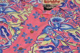 Levi's Vintage Clothing LVC 1950's Hawaiian Print Shirt Pink Multicolor