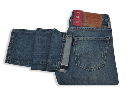 LEVI'S PREMIUM-511-Old Boy Selvedge